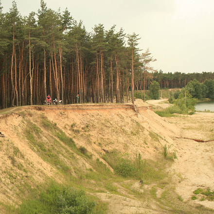 Forest sand quarry, Canon EOS 5D, Tamron AF 19-35mm f/3.5-4.5