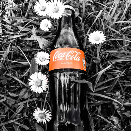 my Coca Cola, Sony DSC-QX10