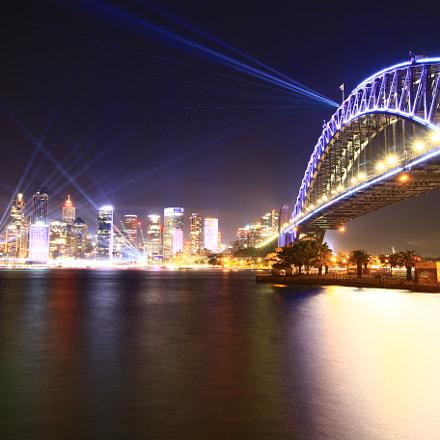 Sydney Vivid Light, Canon EOS 70D, Canon EF-S 10-18mm f/4.5-5.6 IS STM