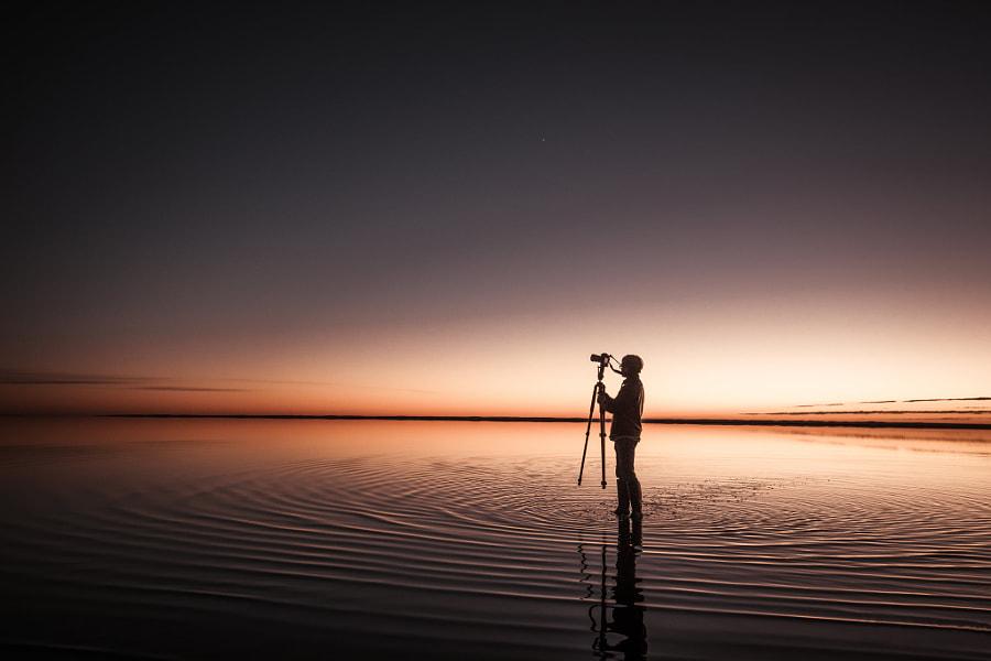 天空之镜 Sky Mirror, автор — 橄榄枝和枪  на 500px.com