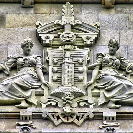Escudo da Coruña, Nikon COOLPIX S4