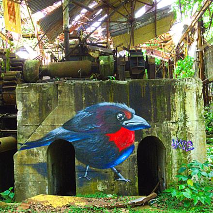 abandoned factory, Fujifilm FinePix HS50EXR