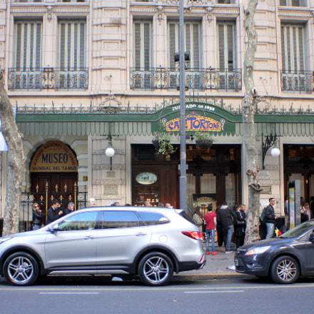 Avenida de Mayo, Canon EOS KISS X4, Canon EF 28-80mm f/3.5-5.6
