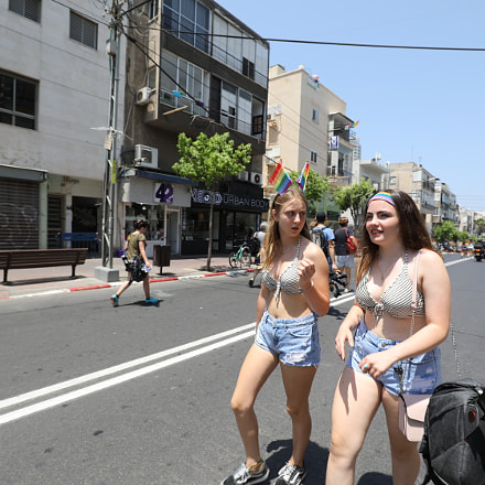 Tel Aviv Pride Parade 2018, Canon EOS 5D MARK IV