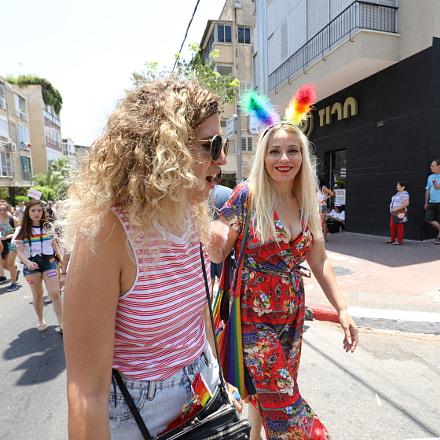 Tel Aviv Pride Parade 2018, Canon EOS 5D MARK IV, Canon EF 16-35mm f/4L IS USM