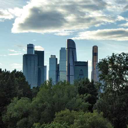 Moscow skyscrapers, Panasonic DMC-TZ60