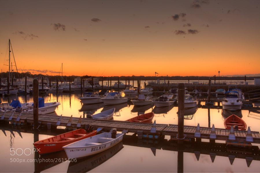 Belmar marina HDR my first attempt