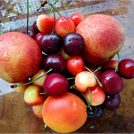 Fruit palette, Sony DSC-W610