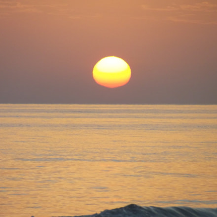 L'horizon a la plage, Fujifilm FinePix S2950