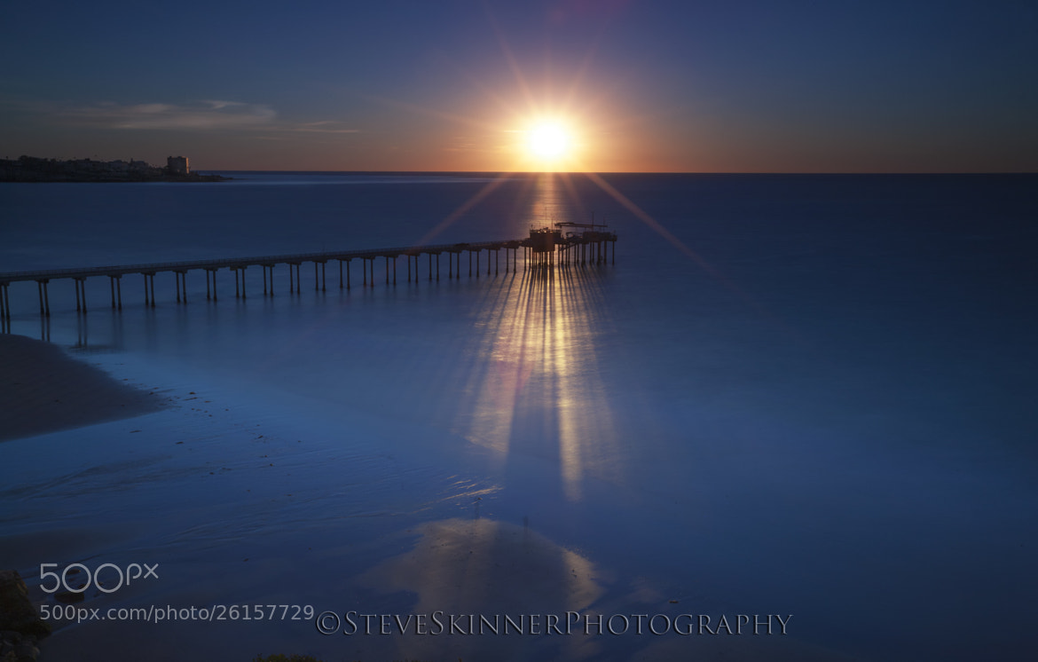 Photograph Shadow Caster - Scripps Pier by Steve Skinner on 500px