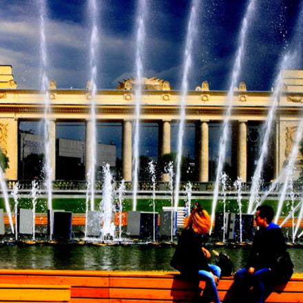 Москва Парк Горького, Canon EOS 500D, Canon EF 75-300mm f/4-5.6
