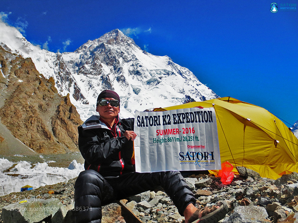 K2 expedition, Canon POWERSHOT ELPH 110 HS