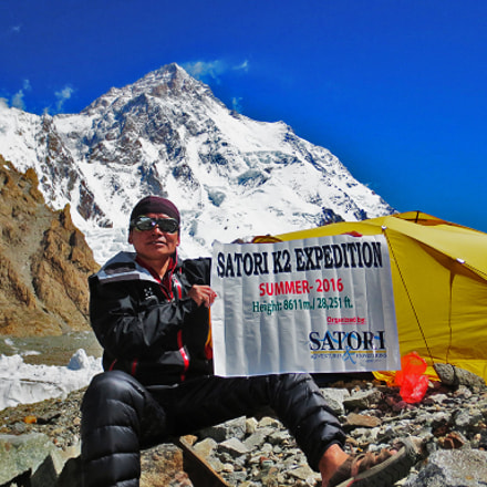K2 expedition, Canon POWERSHOT ELPH 110 HS