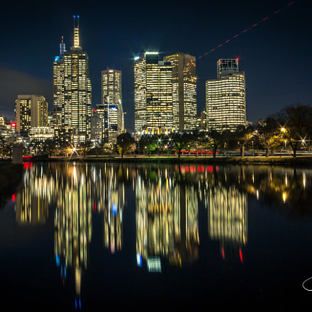 'Melbourne Nightscape', Canon POWERSHOT G1 X