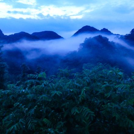 Misty Mountain Tops, Nikon COOLPIX AW100