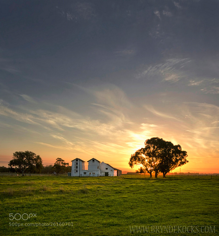 Photograph House on a Farm by Bryn De Kocks on 500px