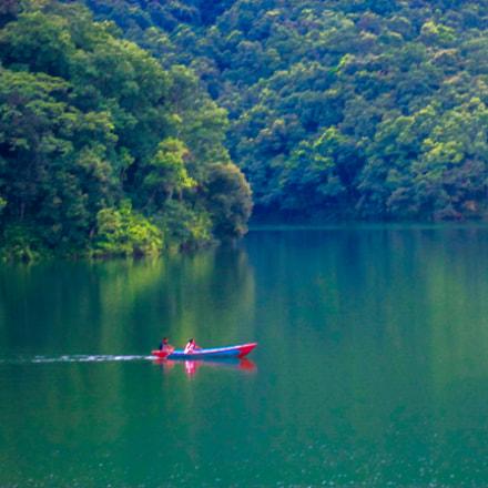 Phewa Lake, Pokhara, Nepal, Canon POWERSHOT A2300