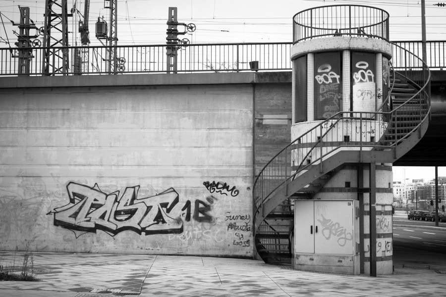 Photograph Stairway to Graffiti  by Max Sammet on 500px
