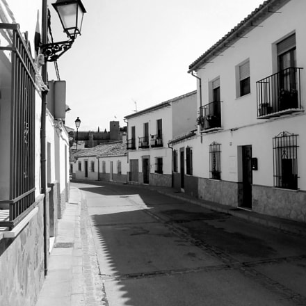 A street in Antequera, Canon POWERSHOT S95