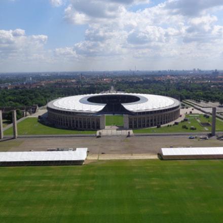 Olympiastadion, Sony DSC-W730