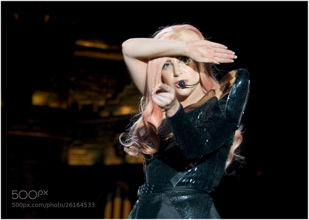 Photograph Lady GaGa by Serge A. on 500px
