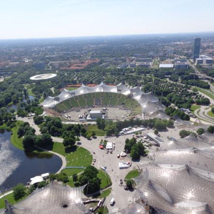 Olympic Park Munchen, Sony DSC-W730