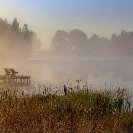 Foggy morning, Sony DSC-HX200V