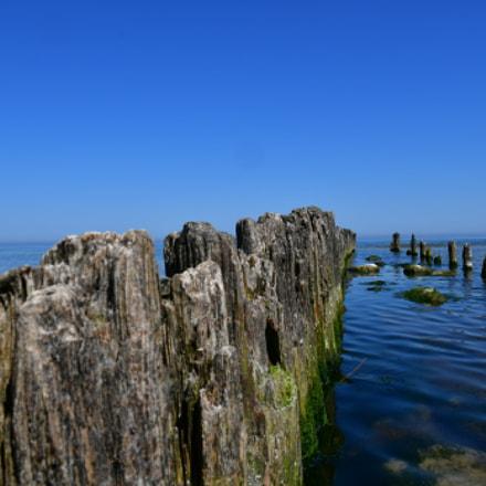 The breakwaters in Debki, Nikon D500