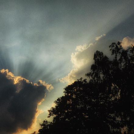 Clouds and Sun , Panasonic DMC-TZ71