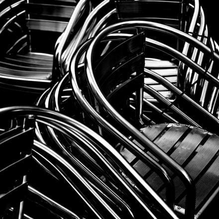 Chrome Chairs, Nikon D610, AF Zoom-Nikkor 28-70mm f/3.5-4.5D