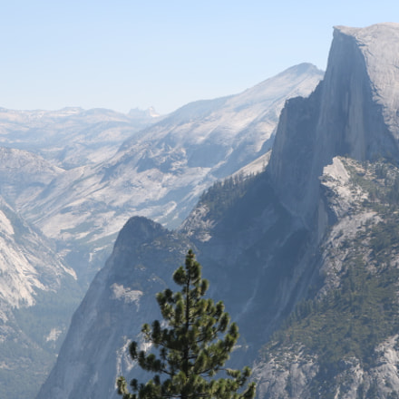 Yosemite National Park Half, Canon EOS REBEL T6I, Canon EF-S 18-55mm f/3.5-5.6 IS STM