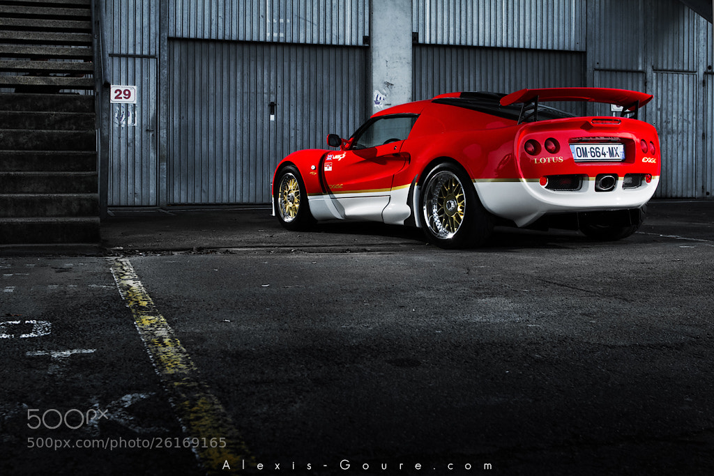 Photograph Lotus Exige S1 by Alexis Goure on 500px