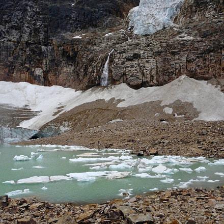 Floating Ice and Waterfall, Panasonic DMC-FZ18