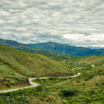 winding road in the, Nikon D7100