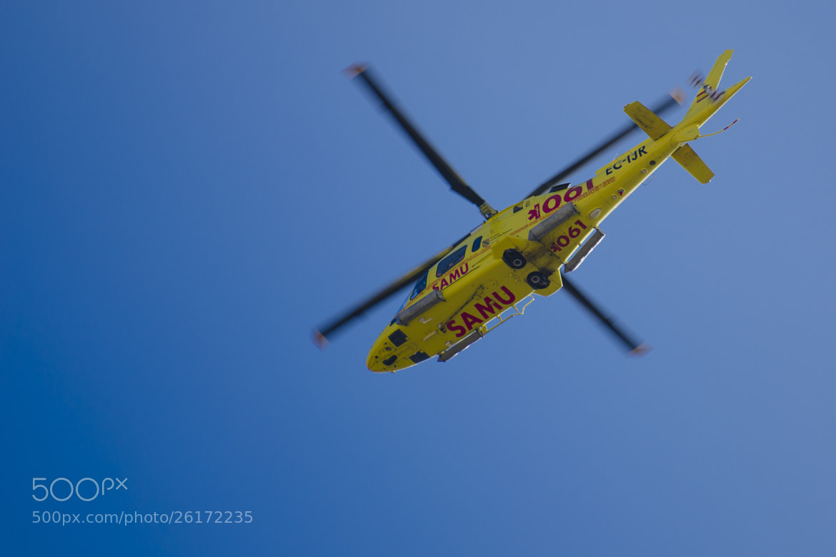Photograph Yellow helicopter by M. Vich on 500px