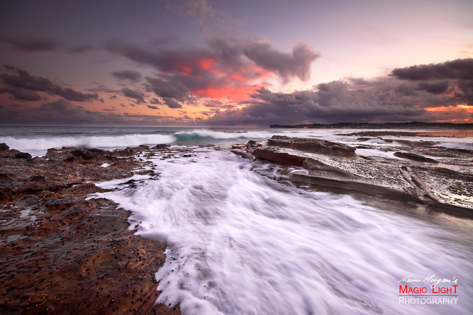 Photograph Spoon Bay Sunset by Kevin Morgan on 500px