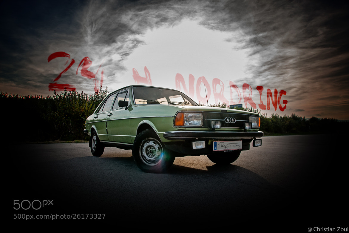Photograph Audi 80 (24 hours edition) by Christian Zbul  on 500px