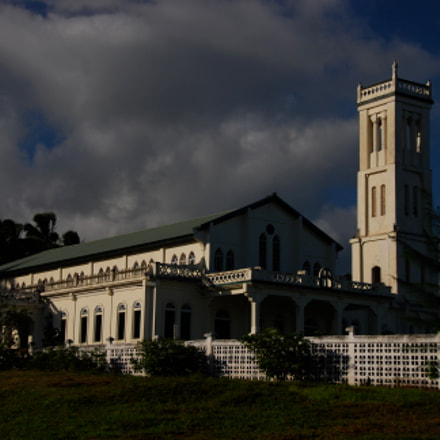 Samoan Church., Nikon D80, AF-S DX VR Zoom-Nikkor 18-200mm f/3.5-5.6G IF-ED
