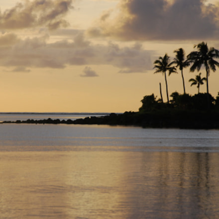 Sunrise. Apia. Samoa north, Nikon D80, AF-S DX VR Zoom-Nikkor 18-200mm f/3.5-5.6G IF-ED