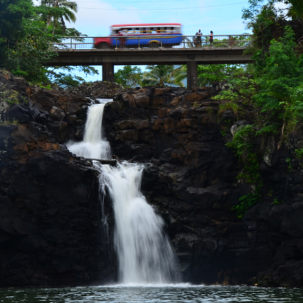 Falefa Falls.  Samoa., Nikon D7000, AF-S DX VR Zoom-Nikkor 18-200mm f/3.5-5.6G IF-ED [II]