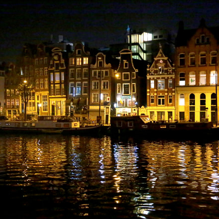 Amsterdam by night, Canon EOS 6D, Canon EF 24-70mm f/4L IS USM
