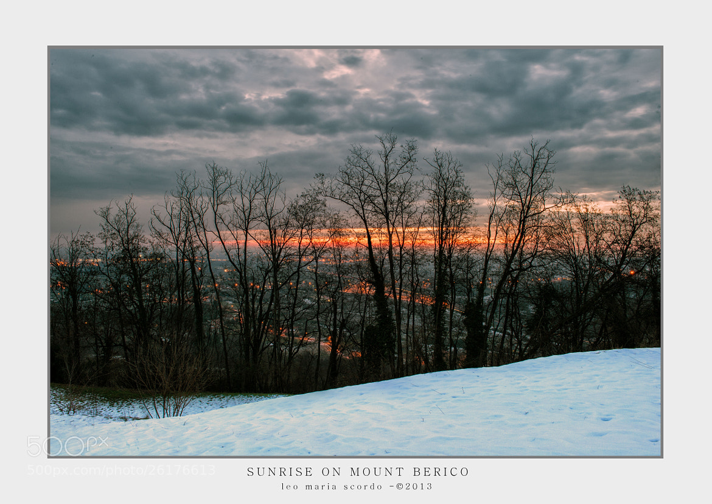 Photograph SUNRISE ON MOUNT BERICO by Leo Maria Scordo on 500px