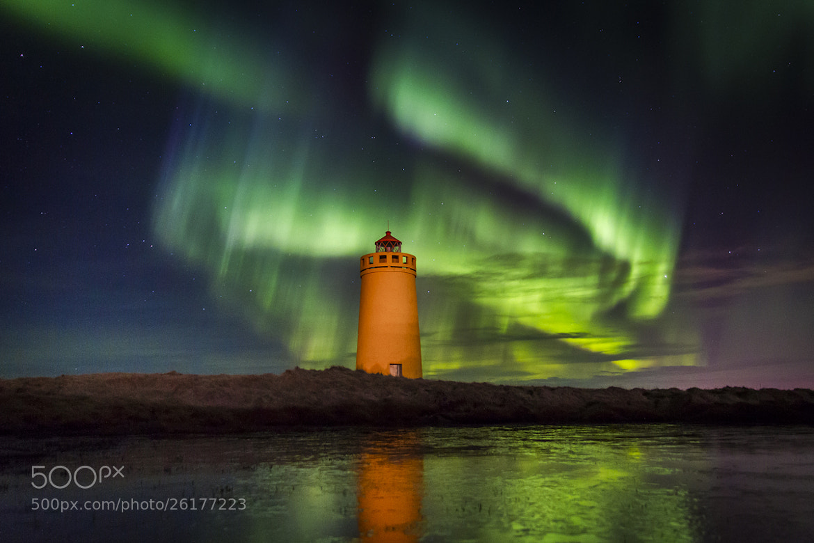 Photograph Northern Lighthouse by Garðar Ólafsson on 500px