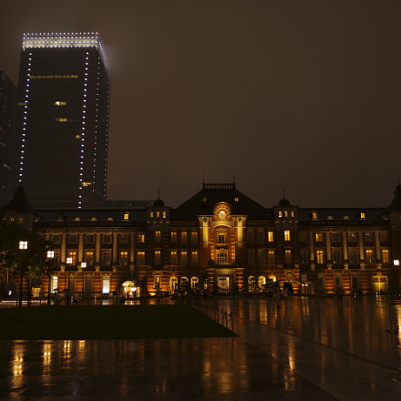 Tokyo station, RICOH PENTAX KP, smc PENTAX-DA L 18-55mm F3.5-5.6