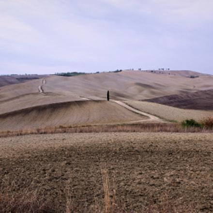 Landscape sulle Colline Senesi, Pentax K-R, smc PENTAX-DA L 18-55mm F3.5-5.6