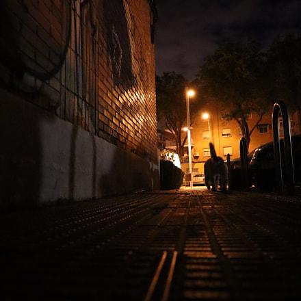 Midnight walks, Canon EOS M50