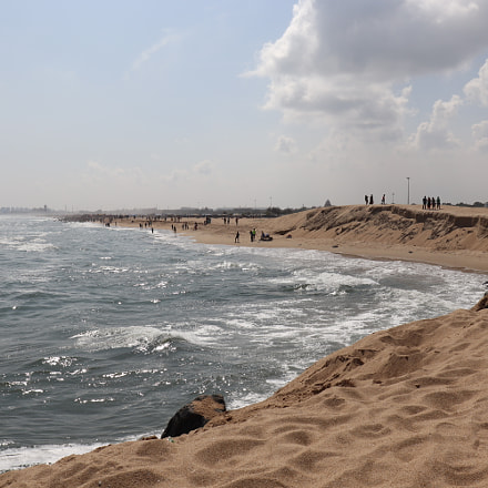 Beach, Canon EOS 200D, Canon EF-S18-55mm f/4-5.6 IS STM