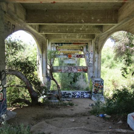 under the bridge graffiti, Canon POWERSHOT SX420 IS