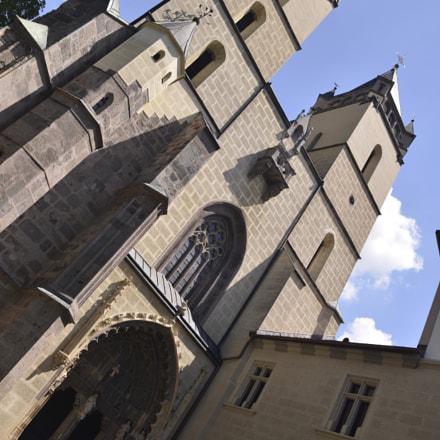 Abbey church in Hronsk, Nikon D800, AF-S Zoom-Nikkor 24-70mm f/2.8G ED