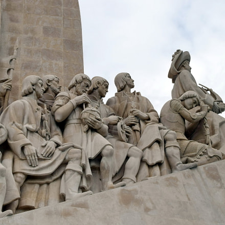 Monument to the Discoveries, Nikon D5300, AF-S DX VR Zoom-Nikkor 18-55mm f/3.5-5.6G